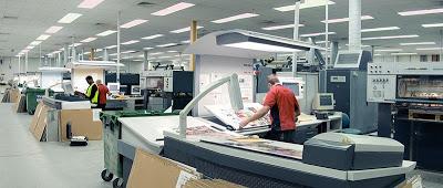 Συρρίκνωση της παραγωγής για την εκτυπωτική βιομηχανία